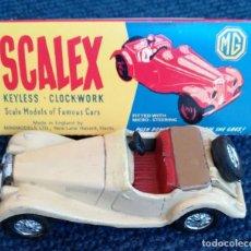 Scalextric: SCALEX TINPLATE MG TF CAJA. Lote 162117030
