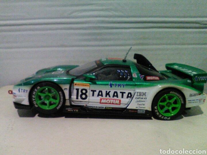 Scalextric: Honda NSX Takata dome 2004 Quattrox scalextric - Foto 5 - 162282993