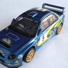 Scalextric: SCALEXTRIC UK INGLES SUPERSLOT SUBARU IMPREZA WRC CON LUCES.. Lote 162442090