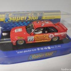 Scalextric: SUPERSLOT BMW E30 M3 BTCC 1988 REF. H3739. Lote 162486456