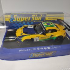 Scalextric: SUPERSLOT SCALEXTRIC BMW Z4 GT3 TEAM BRASIL REF. H3721. Lote 212387030
