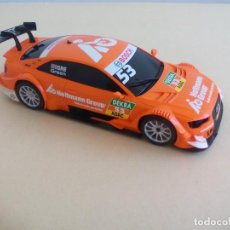 Scalextric: COCHE SCX SCALEXTRIC AUDI A5 DTM DE COLOR NARANJA. GRE GREEN. Lote 162718186