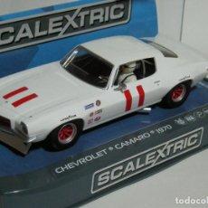 Scalextric: CHEVROLET CAMARO 1970 SUPERSLOT/SCALEXTRIC UK NUEVO EN CAJA. Lote 204222996