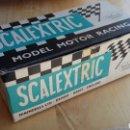Scalextric: CAJA SCALEXTRIC TRI-ANG COOPER C-81. Lote 165563948