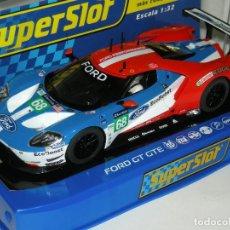 Scalextric - FORD GT GTE LE MANS SUPERSLOT/SCALEXTRIC UK NUEVO EN CAJA - 165855002