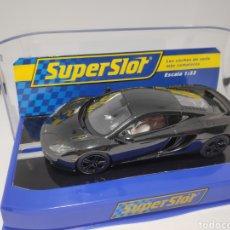 Scalextric: SUPERSLOT MCLAREN MP4 12C BLACK J.BUTTON REF.S3158. Lote 168986078