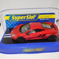 Scalextric: SUPERSLOT MCLAREN MP4 12C RED HAMILTON REF. S3159. Lote 168991097