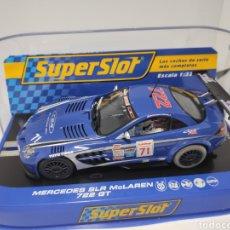 Scalextric: SUPERSLOT MERCEDES SLR MCLAREN 722 GT REF. H3191. Lote 169071600