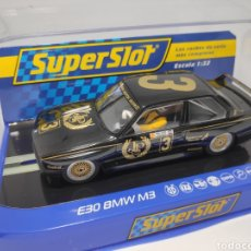 Scalextric: SUPERSLOT BMW M3 E30 1987 AUSTRALIAN TOURING CAR CHAMPION REF. H3757. Lote 169101476