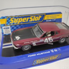 Scalextric: SUPERSLOT FORD MUSTANG REF. H3424. Lote 169151888