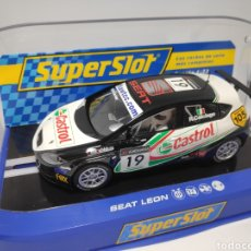 Scalextric: SUPERSLOT SEAT LEÓN N°19 REF. H2912. Lote 169157666