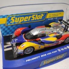 Scalextric: SUPERSLOT PEUGEOT 908 HDI FAP TEAM ORECA N°4 REF. H3195. Lote 169188410