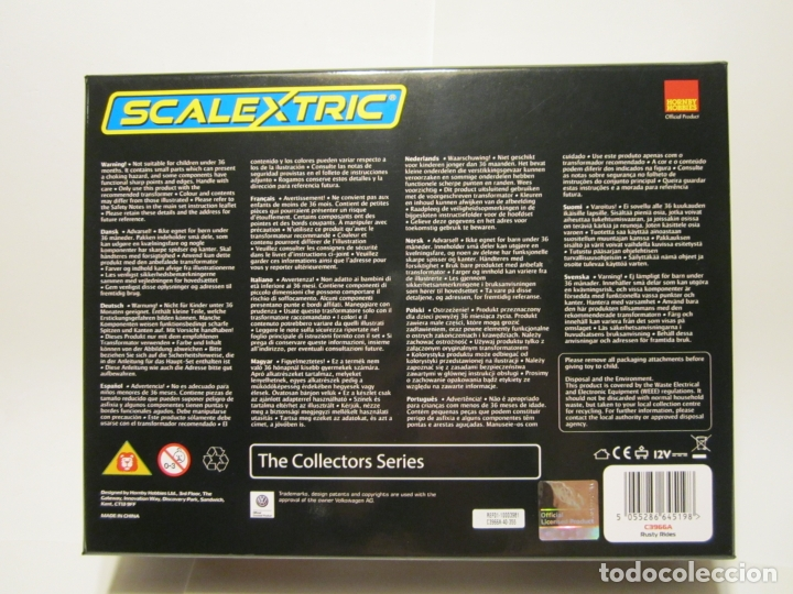 Scalextric: CAJA RUSTY RIDEDES SCALEXTRIC UK NUEVO - Foto 10 - 169243968