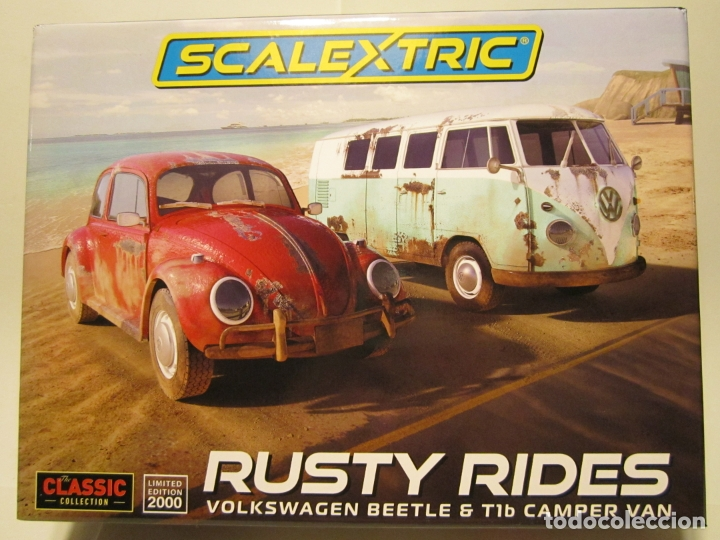 CAJA RUSTY RIDEDES SCALEXTRIC UK NUEVO (Juguetes - Slot Cars - Scalextric SCX (UK))