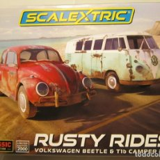 Scalextric: CAJA RUSTY RIDEDES SCALEXTRIC UK NUEVO. Lote 169243968