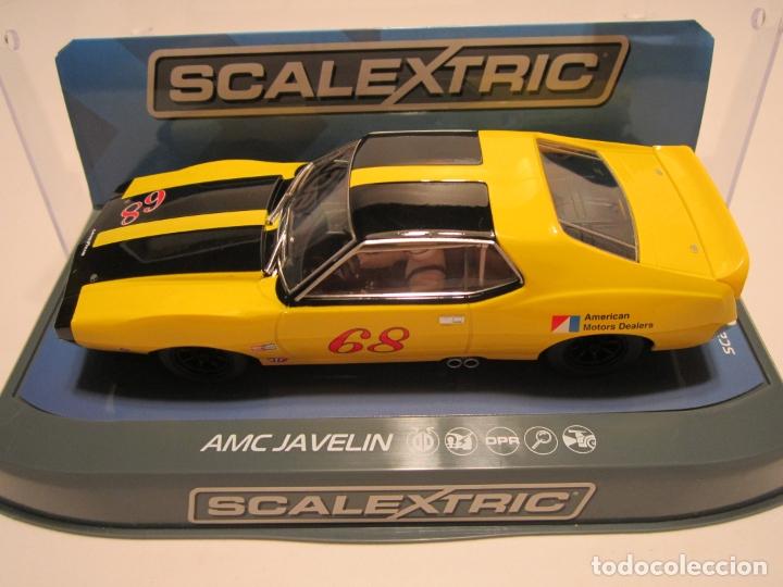 Scalextric: AMC JAVELIN TRANS AM 1971 SCALEXTRIC U.K. NUEVO - Foto 3 - 169471188