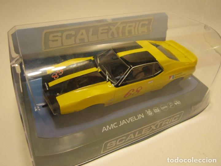 Scalextric: AMC JAVELIN TRANS AM 1971 SCALEXTRIC U.K. NUEVO - Foto 4 - 169471188