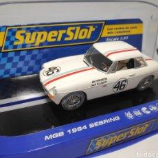 Scalextric: SUPERSLOT MGB 1964 SEBRING N°46 REF. H3415. Lote 169660004
