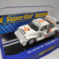 Scalextric: SUPERSLOT MG METRO 6R4 REF. H3306. Lote 169765026