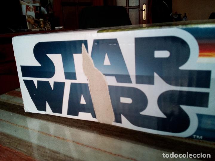 Scalextric: -CAJA SCALEXTRIC STAR WARS-BATTLE OF ENDOR-MUY RARO - Foto 20 - 170158612