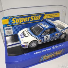 Scalextric: SUPERSLOT FORD RS200 N°2 HAYNES LIVERY REF. H3407. Lote 170907552