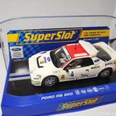 Scalextric: SUPERSLOT FORD RS200 ANTONIO ZANINI N°4 REF. H3305. Lote 170910675
