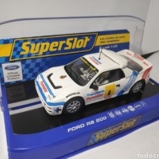 Scalextric: SUPERSLOT FORD RS200 CARLOS SAINZ REF. S3326. Lote 170910900