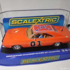 Scalextric: SCALEXTRIC UK 1969 DODGE CHARGER DUKES OF HAZZARD SUPERSLOT REF. C3044. Lote 170993207