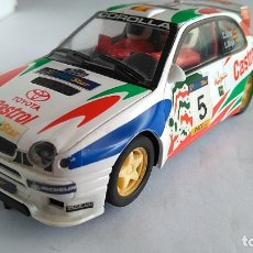 Scalextric: SCALEXTRIC SUPERSLOT INGLÉS UK TOYOTA COROLLA WRC, FUNCIONA. Lote 171737919