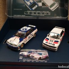 Scalextric: FORD SIERRA RS500 VS BMW E30 SERIE LEGENDS. Lote 171769962