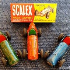 Scalextric: SCALEX TINPLATE FERRARI CAJA. Lote 161712932