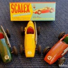 "Scalextric: SCALEX TINPLATE MASERATI ""CAJA"" (LEER DESCRIPCIÓN). Lote 209165638"