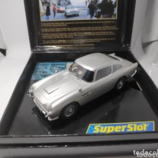 Scalextric: SUPERSLOT ASTON MARTIN DB5 JAMES BOND 007 GOLDENEYE REF. H3163A. Lote 172351969