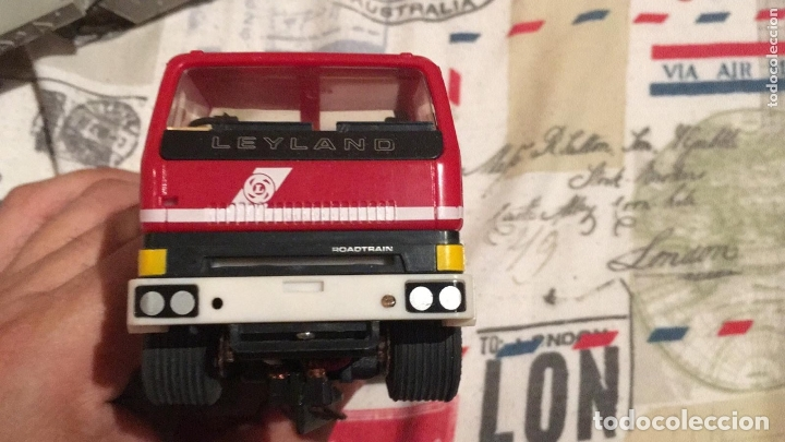 SCALEXTRIC. CAMION CON REMOLQUE. LEYLAND ROAD TRAIN (Juguetes - Slot Cars - Scalextric SCX (UK))