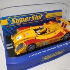 Scalextric: SUPERSLOT PORSCHE RS SPYDER N°6 REF. H2812. Lote 174471453