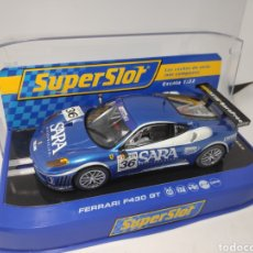 Scalextric: SUPERSLOT FERRARI F430 GT M°36 SCUDERIA PLAYTEAM CLUB 2007 REF. H2835A. Lote 174471593