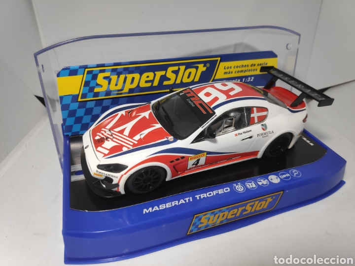 SUPERSLOT MASERATI TROFEO WORLD SERIES 2013 N°4 SUPERCLUB 2014 (Juguetes - Slot Cars - Scalextric SCX (UK))
