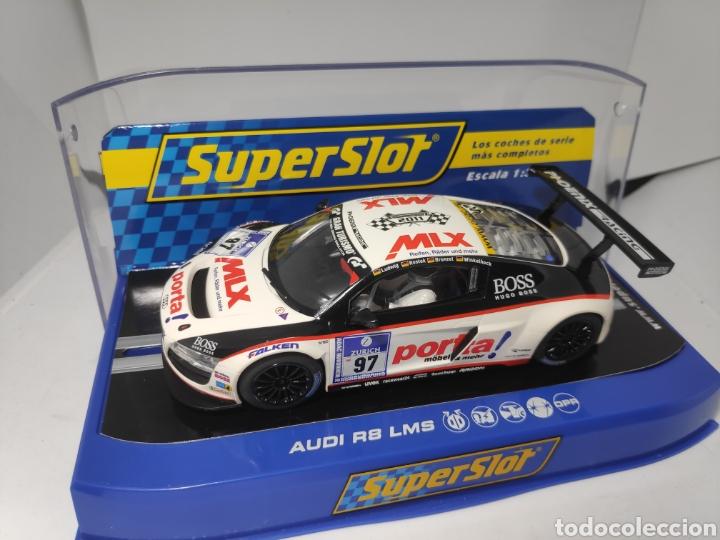 SUPERSLOT AUDI R8 LMS TEAM PHOENIX RACING REF. H3236 SUPER CLUB 2011 (Juguetes - Slot Cars - Scalextric SCX (UK))