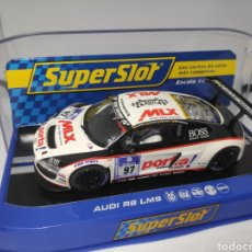Scalextric: SUPERSLOT AUDI R8 LMS TEAM PHOENIX RACING REF. H3236 SUPER CLUB 2011. Lote 174654223