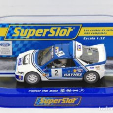 Scalextric: FORD RS200 HAYNES (SCALEXTRIC SUPERSLOT). Lote 175281030