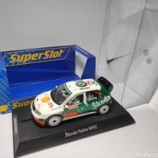 Scalextric: SUPERSLOT SKODA FABIA WRC COLIN MCRAE REF. H2465A. Lote 175627820
