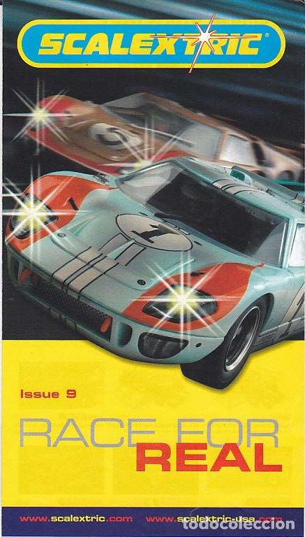 CATALOGO SCALEXTRIC (Juguetes - Slot Cars - Scalextric SCX (UK))