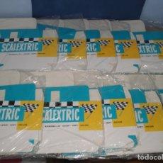 Scalextric: CAJAS SCALEXTRIC TIPO INGLÉS CON COMPARTIMIENTO INTERIOR. Lote 194526985