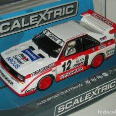 Scalextric: AUDI QUATTRO E2 SUPERSLOT/SCALEXTRIC UK NUEVO EN CAJA. Lote 191229507