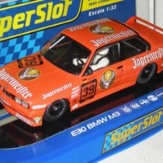 Scalextric: BMW M3 JAGERMEISTER 1988 SUPERSLOT/SCALEXTRIC NUEVO EN CAJA. Lote 178312021