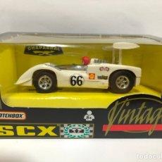 Scalextric: COCHE SLOT CAPARRAL GT VINTAGE SCX MATCHBOX SERIE VINTAGE CON CAJA . Lote 179264388
