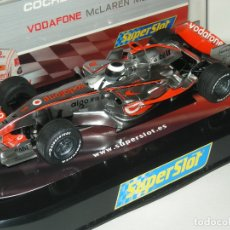 Scalextric: F1 MCLAREN MP4-22 ALONSO 2007 SUPERSLOT/SCALEXTRIC NUEVO EN CAJA. Lote 180288320