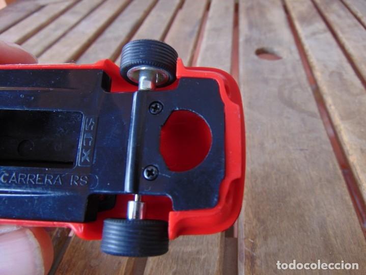 Scalextric: COCHE DE PISTA PORSCHE CARRERA RS SCX ROJO DE SCALEXTRIC INCOMPLETO - Foto 8 - 182265777