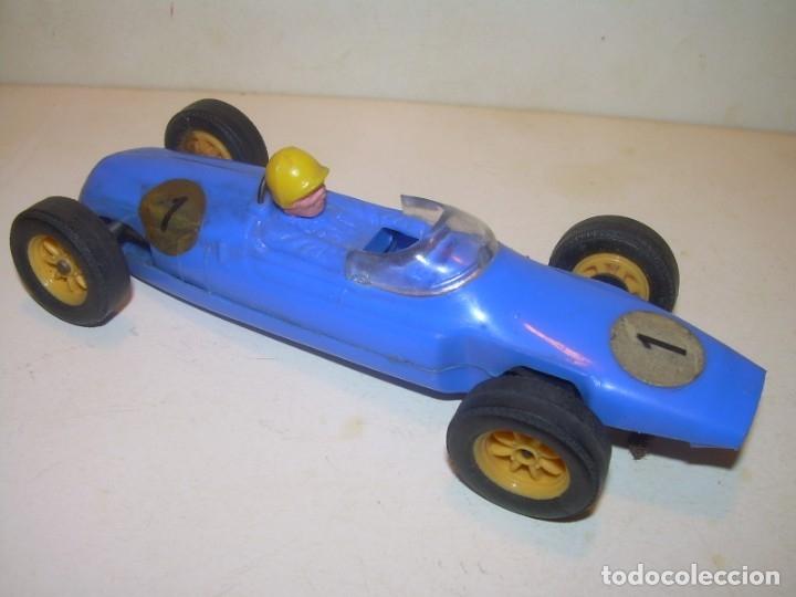 ANTIGUO COCHE SCALEXTRIC...COOPER.GUIA GIRATORIA. (Juguetes - Slot Cars - Scalextric SCX (UK))