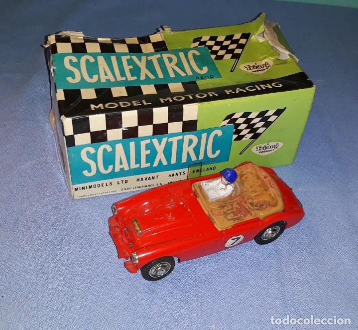 ANTIGUO COCHE ORIGINAL DE SCALEXTRIC AUSTIN HEALEY 3000 CON CAJA (Juguetes - Slot Cars - Scalextric SCX (UK))